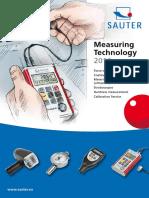 Sauter - Katalog 2011 EN