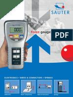 Sauter - Katalog 2009 EN