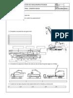 Examen de Mantenimiento de Camion Grua