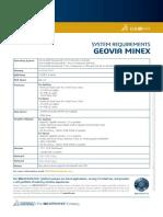 GEOVIA Minex 6.5.3 SystemRequirements