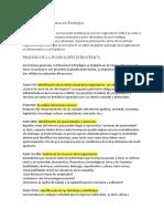 Fundamentos de La Planeación Estratégica