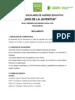 Reglamento Zonal Ajedrez Educativo 2018[1]