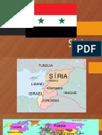 Apresentação sobre a Síria para 5º Ano