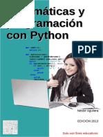 Matemáticas y Programación Con Python - Néstor Aguilera
