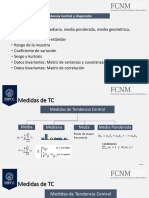Tema3. Medidas de Tendencia Central y Dispersión