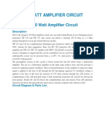 150 Watt Amplifier Circuit