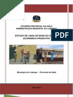 Linha de Base Do Sector EconomicoProdutivo Lubango