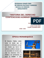 HISTORIA DEL DERECHO CONTENCIOSO ADMINISTRATIVO