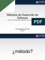 Metodologia de Desarrollo de Software U.de Los Andres