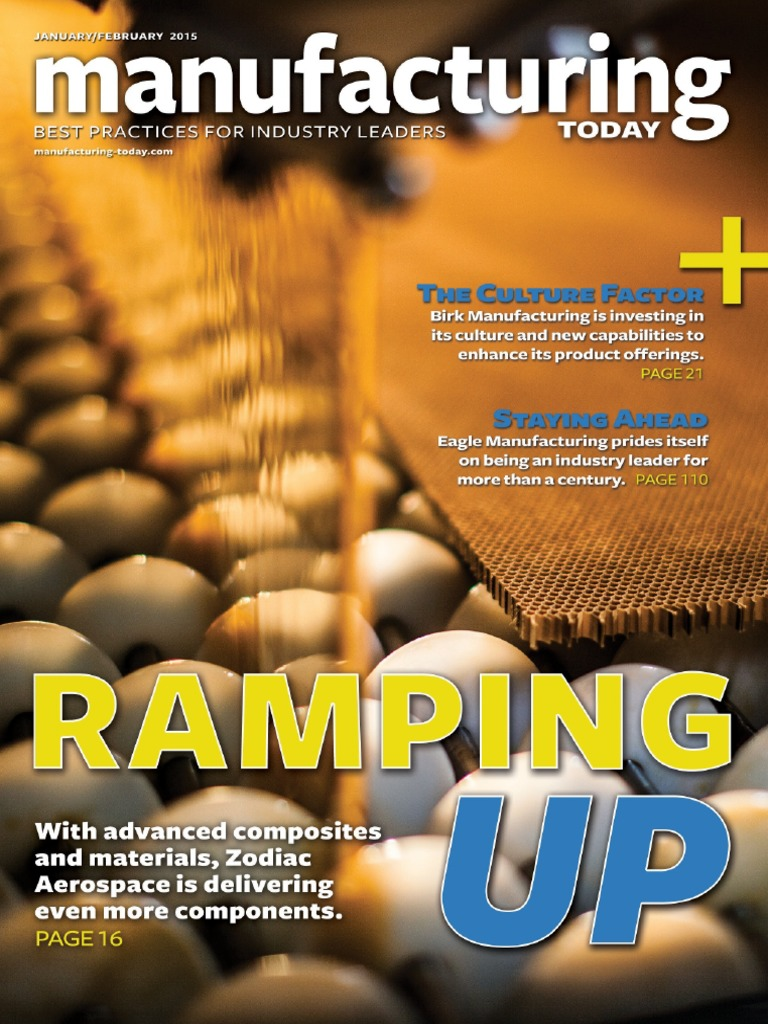 Manufacturing Today - January February 2015 | Business