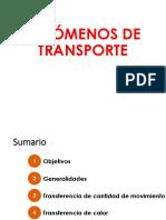 Clase 1 Fenómenos de Transporte