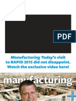 Manufacturing Today - July-August 2015