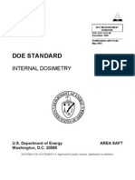 Doe Internal Dosimetry Doe Std 1121 98