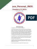 Configure Personal JNOS Raspberry Pi JNOS en US