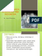 Menjadi Tenaga Kesehatan Haji Indonesia New