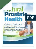 Natural Prostate Health 2017