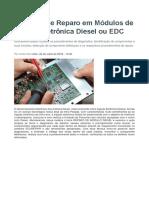 Técnicas de Reparo Em Módulos de Injeção Eletrônica Diesel Ou EDC