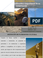 Clase 1 Patrimonio Cultural Definicion Clasificacion e Importancia