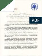 Comunicado de la Congregación para los institutos de vida Consagrada respecto del caso Sodalicio
