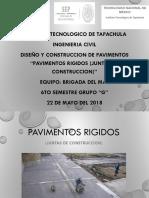 JUNTAS DE CONSTRUCCION