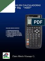 Análisis Sísmico Estático en calculadoras HP50g