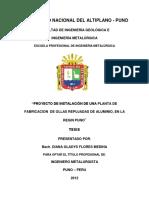 112780228 Diana Flores Medina Proyecto de Instalacion de Una Planta de Fabricacion de Ollas Repujadas de Aluminio en La Region Puno