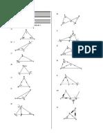 Geometria - Repaso de Triangulos