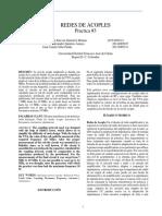 Informe 3 Redes de Acople 3.1