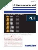 PEN00651-01 JTHB Hydraulic Breaker Operation and Maintenance Manual