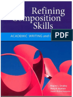 Refining Composition Skills  Pp 1-9