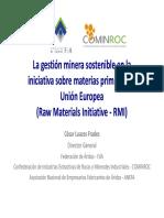 César Luaces Frades_La Gestión Minera Sostenible en la Iniciativa sobre Materias Primas de la Unión Europea (Raw Material Initiative-RMI) (2010).pdf