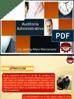 Presentacion Auditoria Administrativa i Encuentro