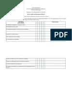 Guía de Análisis Del Planeamiento Didáctico