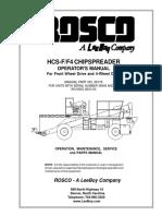 Rosco SPRHH Chipspreader
