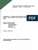 Obtencion de La Excelencia Operacional e Intimidad Con El Cliente Aplicaciones Empresariales
