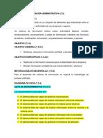 7.5 Sistema de Información Administrativa