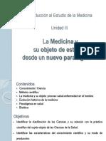 Unidad III- Introduccion Al Estudio de La Medicina Unidad 3 2018