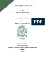 Análisis Del Plan de Área de Ciencias Sociales Juan David Arango (1)