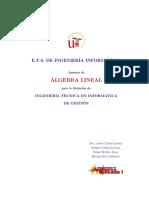 Algebra Lineal y Vectorial