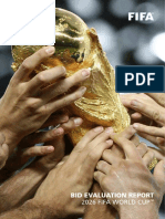2026 Fifa World Cup Bid Evaluation Report