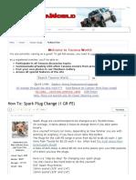 How To_ Spark Plug Change (1 GR-FE) _ Tacoma World