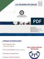 CLASE Gestión de la calidad en Salud 2017 Puerto Montt Clase N° 1