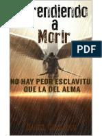 Aprendiendo a Morir - Daniel Carrasco