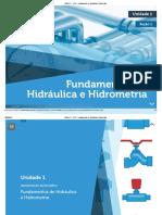 WA01171 - U1S1 - Fundamentos de Hidráulica e Hidrometria