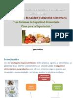 Entrenamiento en normas de seguridad alimentaria