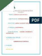 Gobierno Electronico Andrea