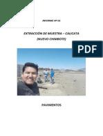 Informe de Calicatas .- ToNY UCV