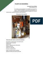 INOBRA Gruas Ibanez CC Planta de Biodiesel