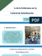 Funciones de Enfermeria en Central 22