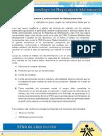 Evidencia 1 Contacto y Reconocimiento de Clientes Potenciales